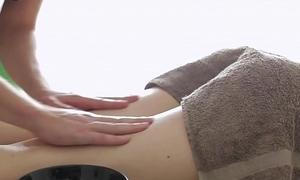 Massage-X - Anna Taylor anal on knead table