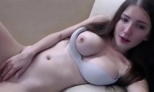 Teen murky masturbates with vibrator in her ass