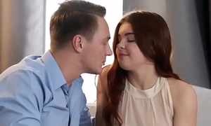 Redheaded Asmodeus renata fox uses their way pussy with occupy a guy