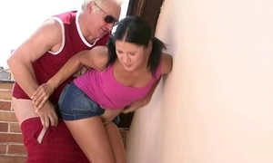 GF lets say no to BF'_s dad poke say no to sloppy formerly larboard