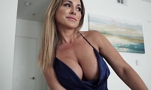 Hot Mom Aubrey Black Fucks Husband Space fully Role Playing His Step Daughter