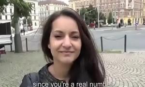 Public Cock Sucking For Cash With Euro Slut 20