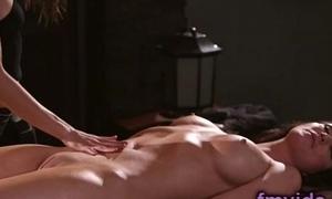 Angela Sommers astounding lesbian massage