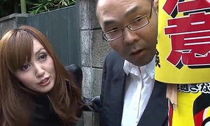 Yui Igawa has a molestor get her lacking quite spot on target