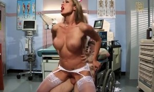 Capri Cavanni gets her pussy drilled in various positions